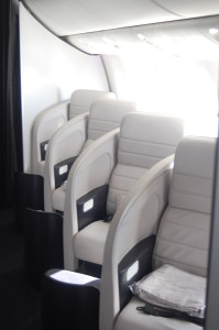 Air New Zealand Business Premier Seats