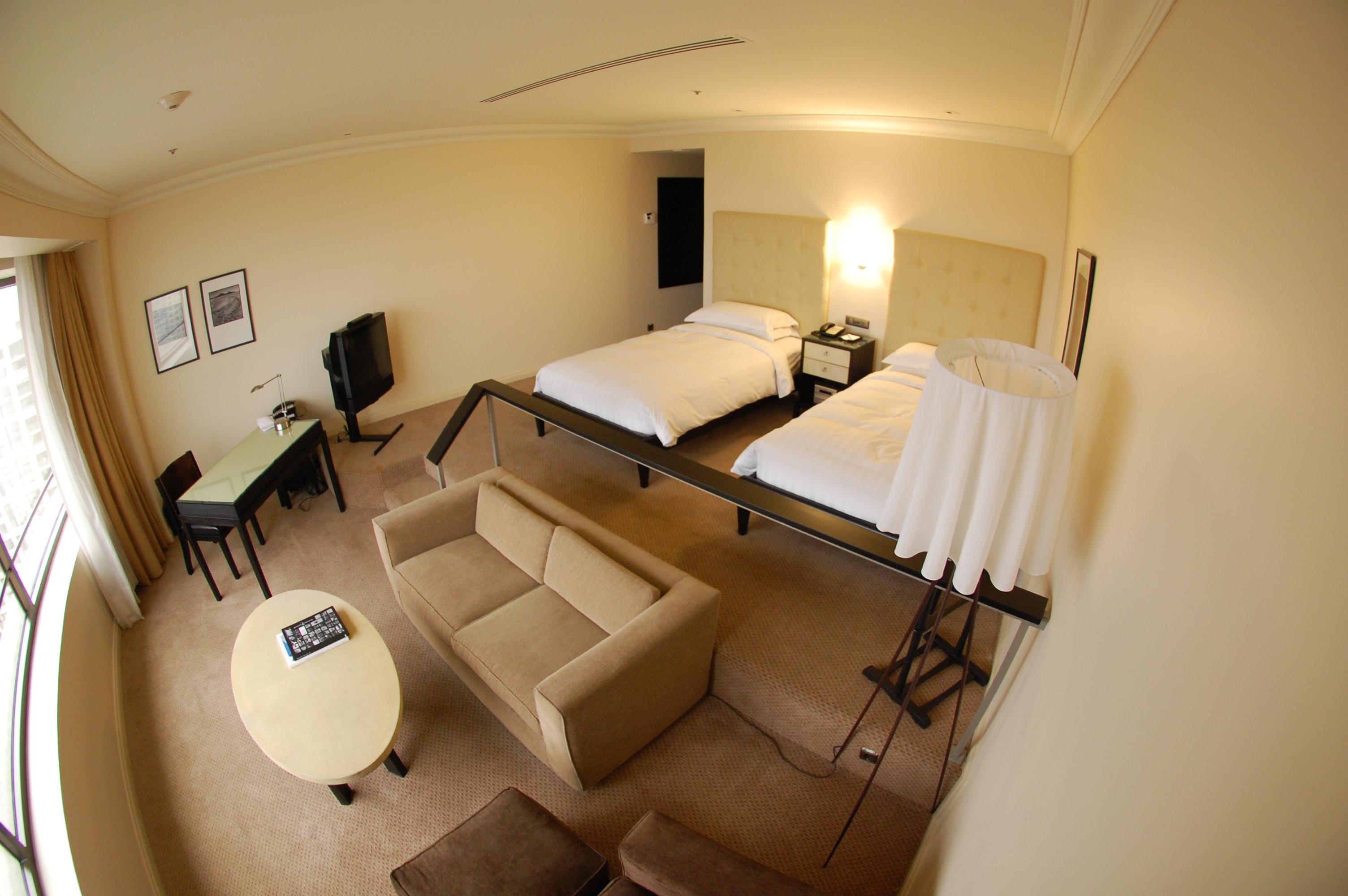 Grand Hyatt Santiago Bedroom
