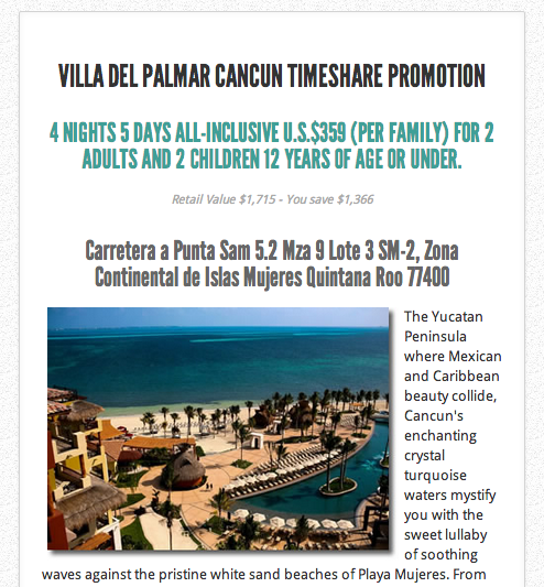 Cancun Hotels and Places to Stay