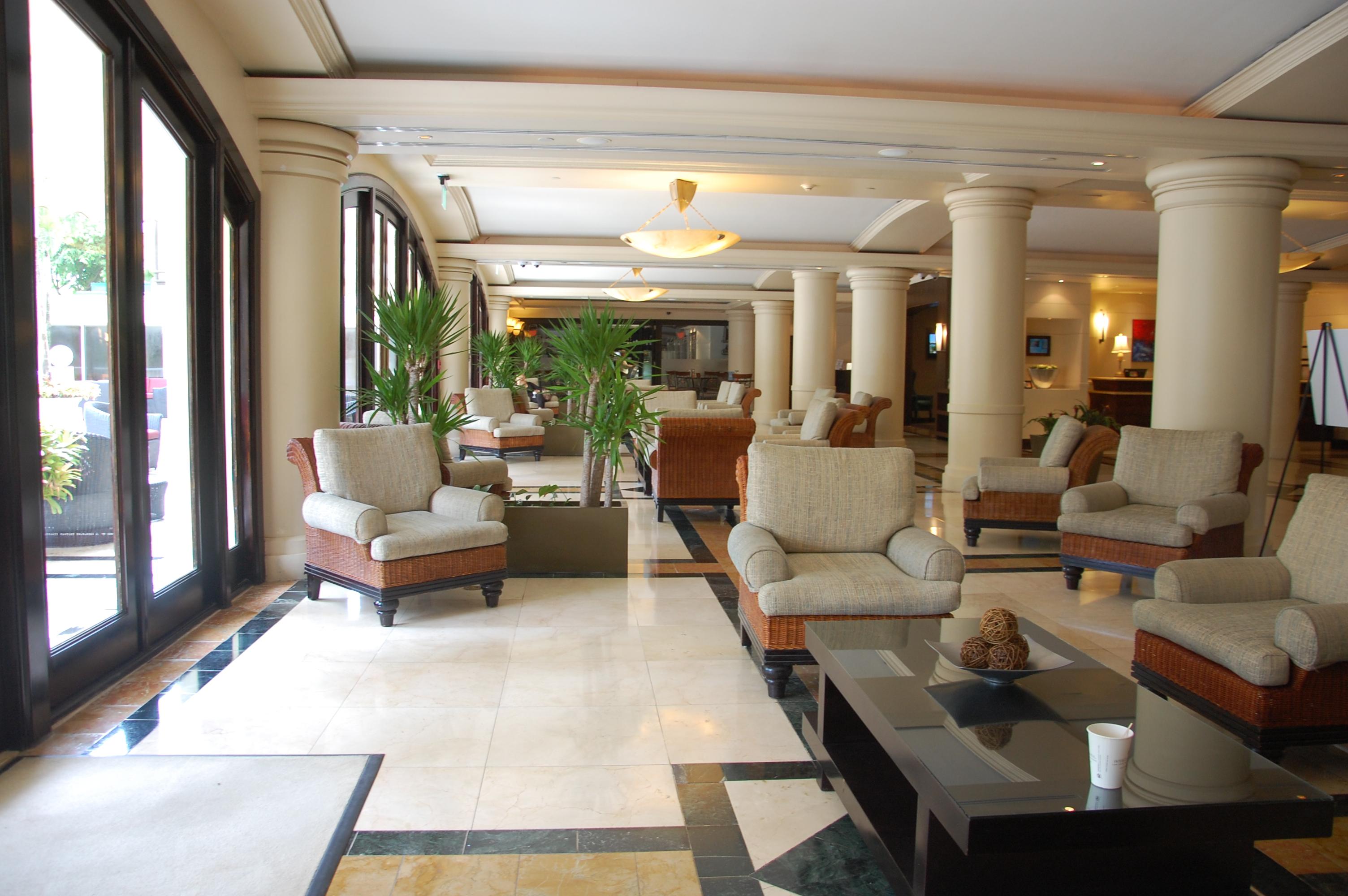 Intercontinental San Juan Lobby