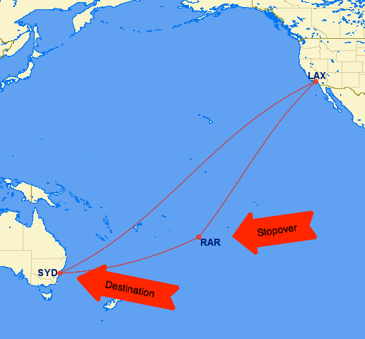 Australia/New Zealand AND Oceania islanes = 70,000 miles