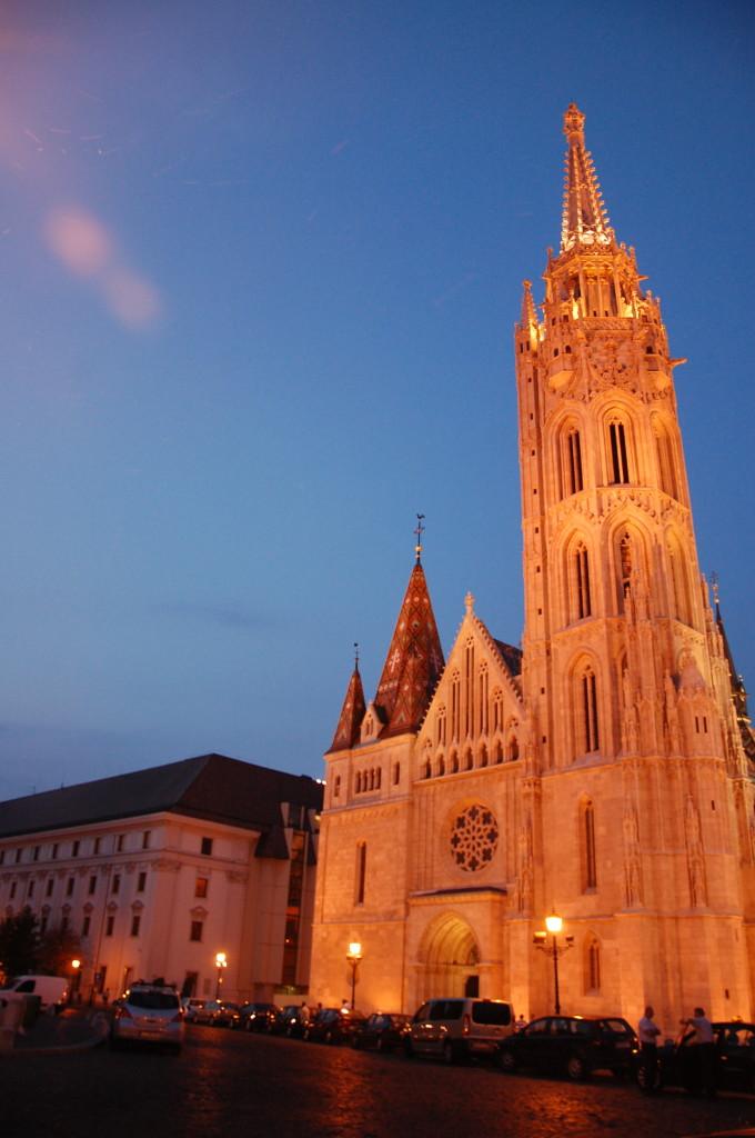 Budapest Castle Church