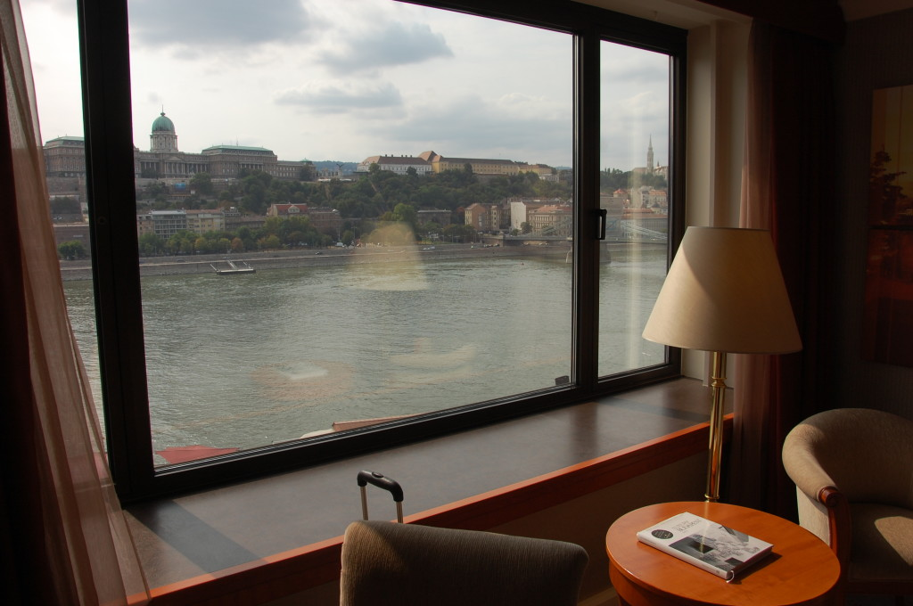 View from the InterContinental Budapest