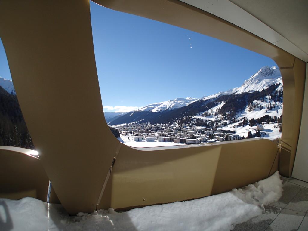 InterContinental Davos Suite Balcony