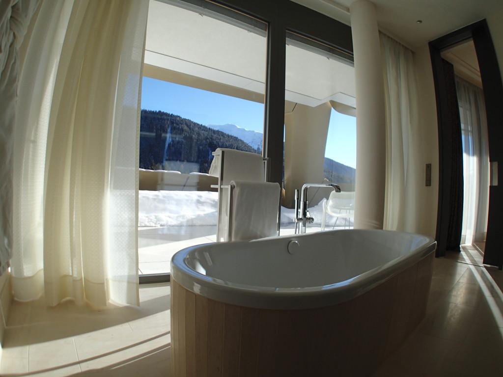 InterContinental Davos Suite Bathroom