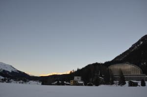 InterContinental_Davos_sunset