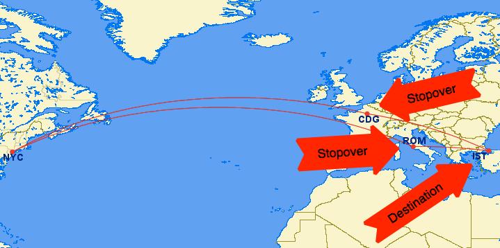 Lufthansa Stopover