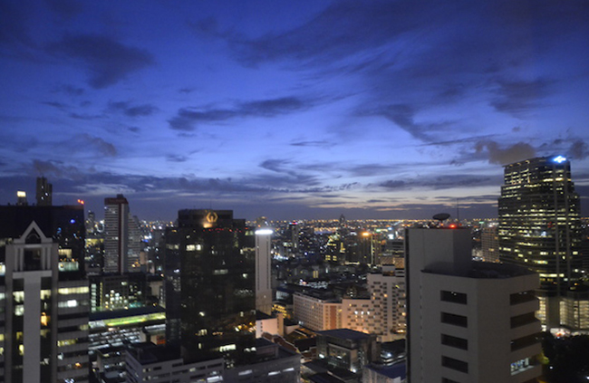 View from Grand Hyatt Bangkok