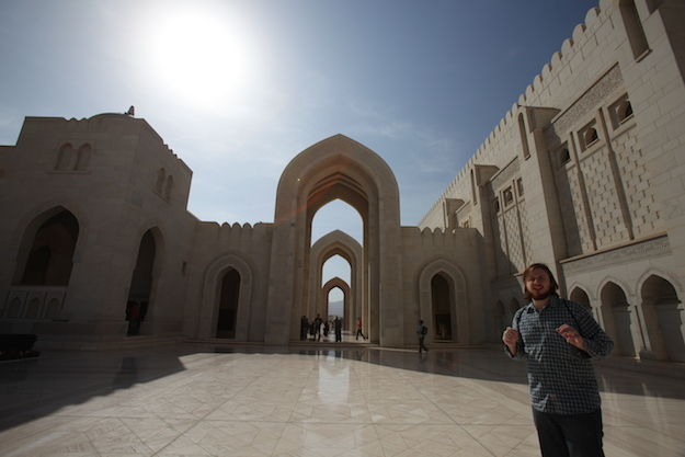 Drew at Grand Mosque
