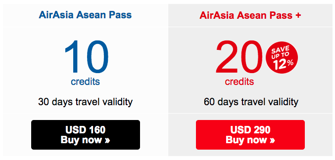 1 AirAsia Pass Plan
