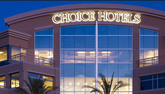 Map Of Choice Hotels With Choice Points