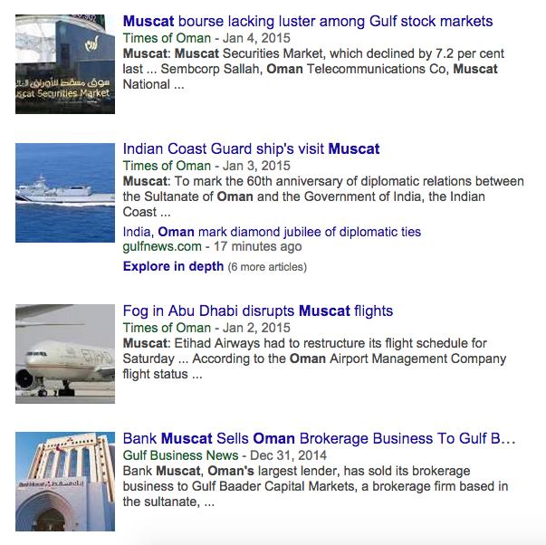 Muscat news