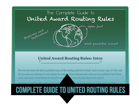 Complete Guide to United Award Routing Rules