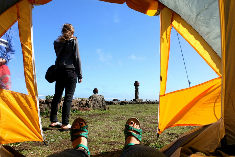 easter island tent