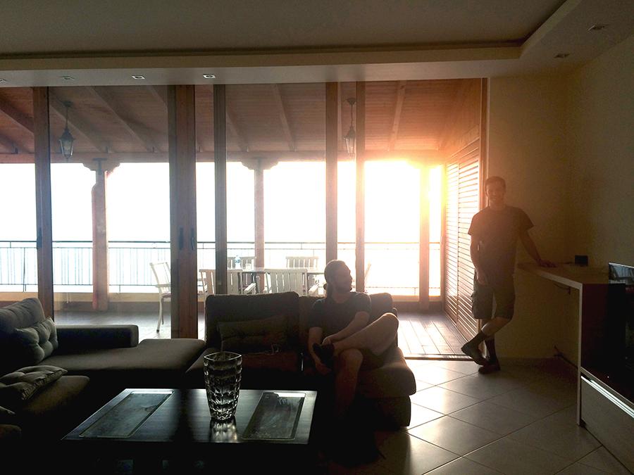 airbnb penthouse saranda albania 1