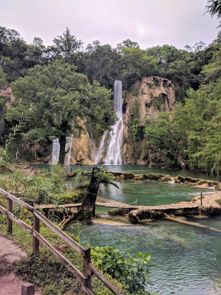 Cascadas de Minas Viejas Mexico