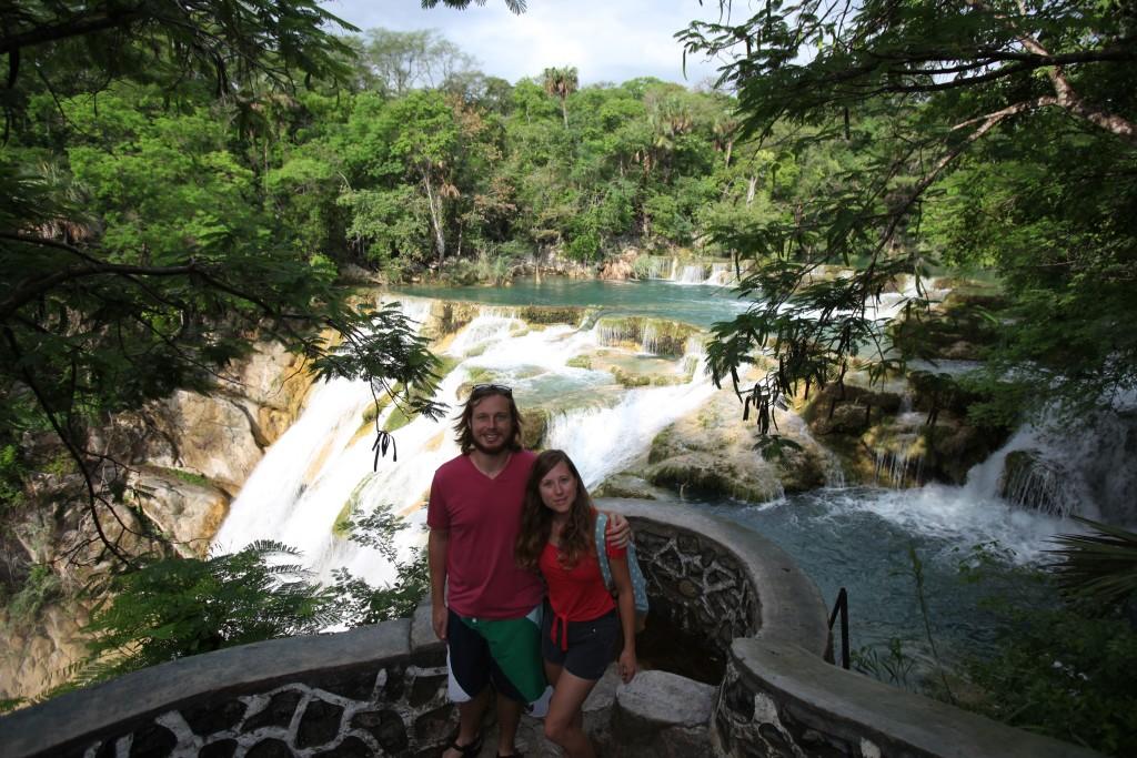 El Meco Waterfall Mexico
