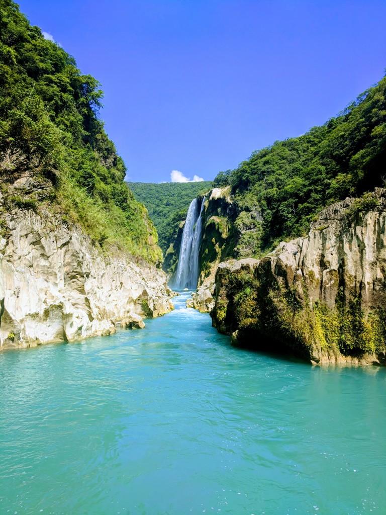 Tamul Waterfall Mexico