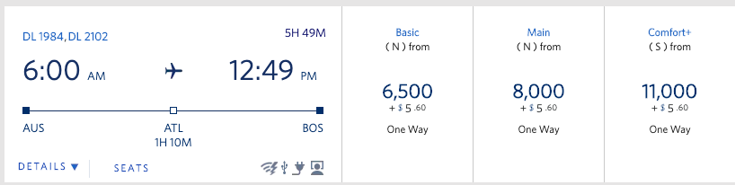 A Trick To Save On Delta Miles Flights